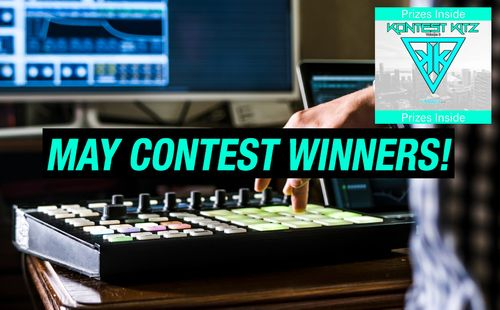 First of all, thank you to all the producers & beatmakers that took part in our May Contest! Although we had many great submissions, we could only choose 3 winners. The winners were chosen simply by overall creativity, sound & production.