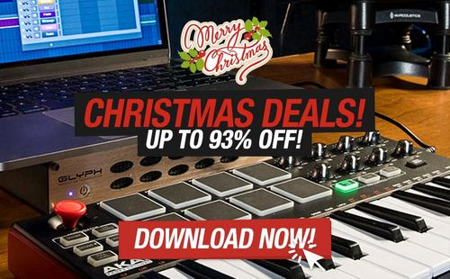 Enjoy special deals from Smemo Sounds, Studio Trap, Flame Audio this holiday season!